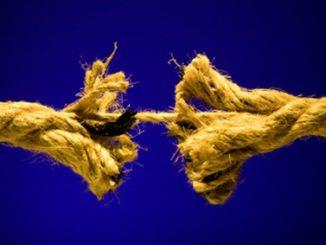 break,tear,rope