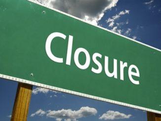 closure,close,shut-down