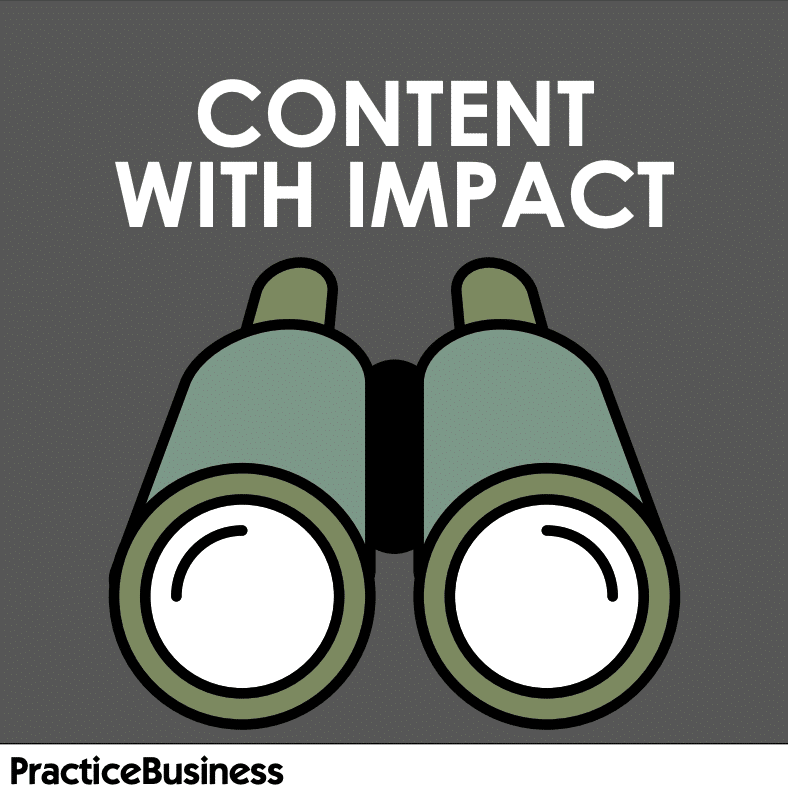 Content with impact.
