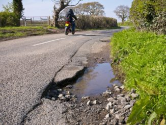 GP surgery under threat by pothole-ridden roads