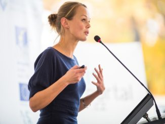 How to do a great a speech at a work event