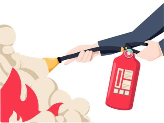 Extinguishing poor practice fire safety