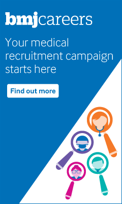 bmjcareers. Your medical recruitment campaign starts here