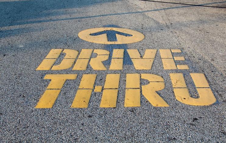 Drive Thru Lane