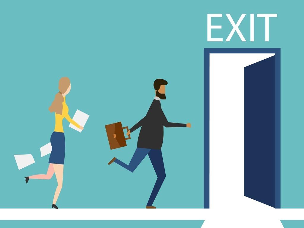 people-running-door-isolated-on-background-vector-illustration-vector-id1183790333