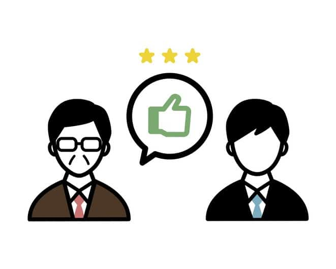 Illustration of personnel evaluation that can be used in business