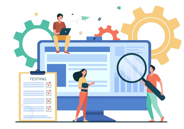 Tiny people testing quality assurance in software