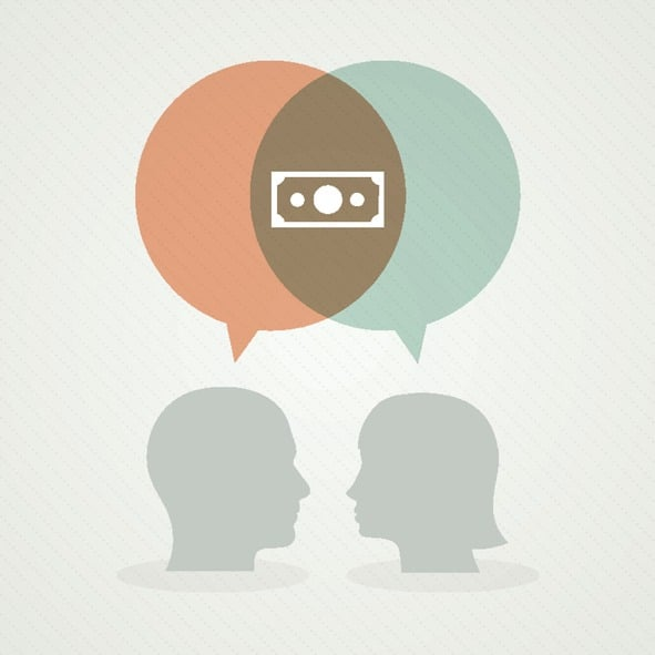 Dialog about money