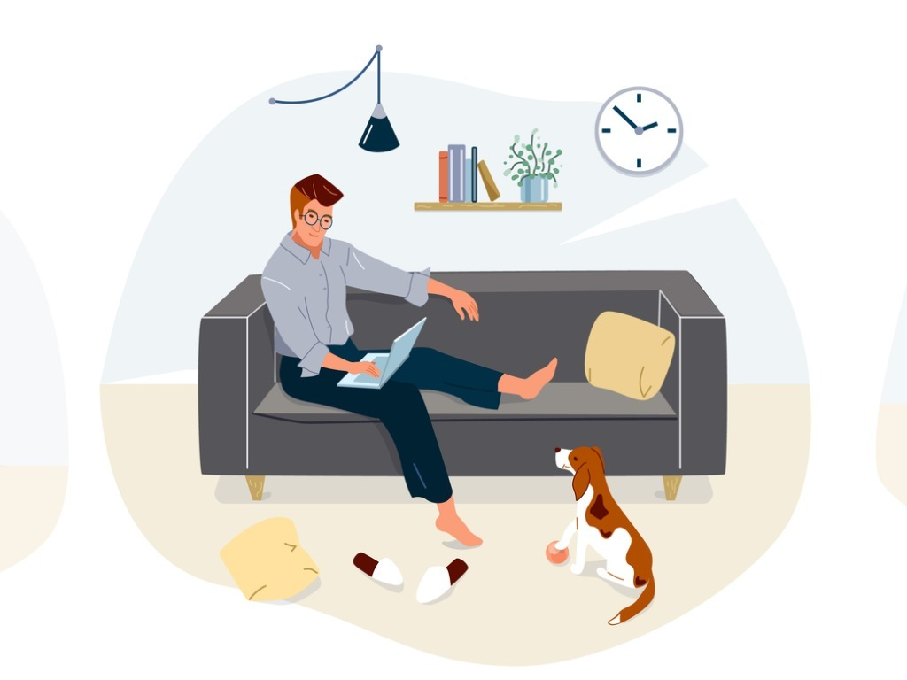 work-at-home-concept-design-freelance-woman-and-man-working-on-laptop-vector-id1218816202